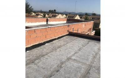 VIVIENDA ISABEL DE VILLENA | Impermeabilización de la cubierta