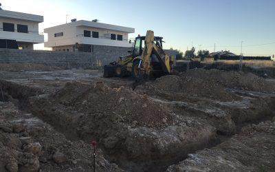 VIVIENDA D'URA | Excavación