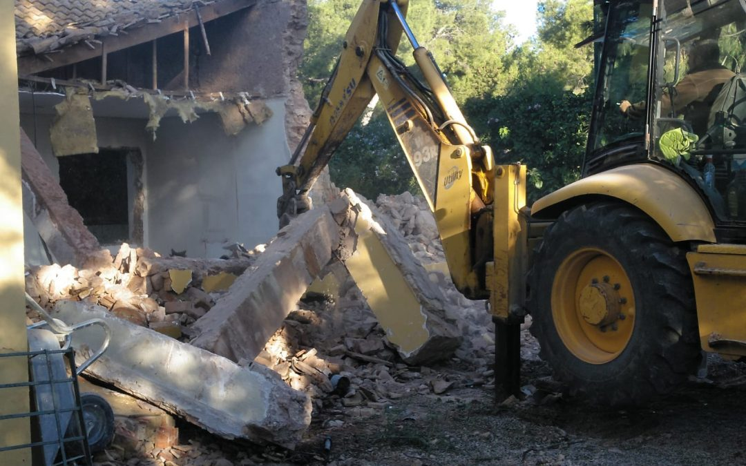 VIVIENDA PLAZA ESPAÑA | Demoliciones