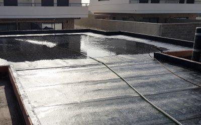 VIVIENDA D'URA   Impermeabilización de cubierta